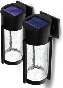 Home-Zone-Decorative Solar-Wall-Lights