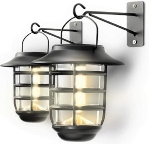 Home-Zone-Solar-Wall-Lantern-Lights